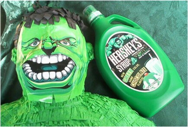 Hershey's Syrup Green