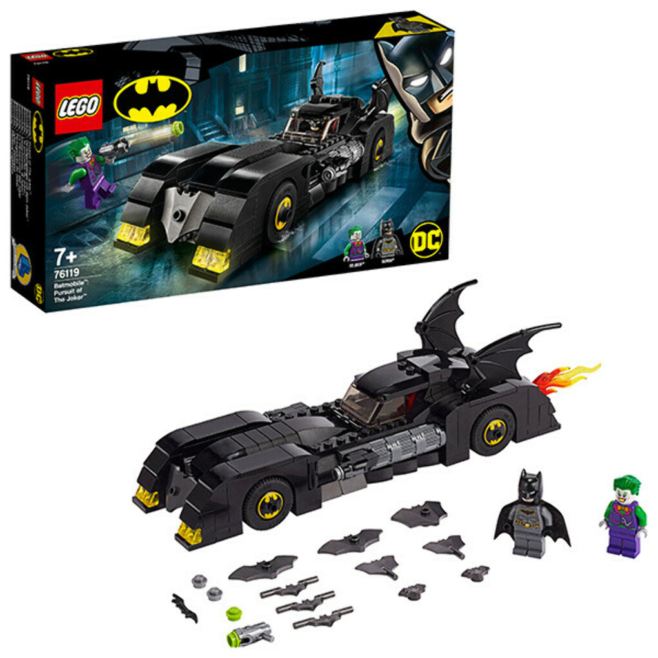 Купить конструктор Lego Super Heroes 76119 Лего Супер Герои Бэтмобиль: Погоня за Джокером в интернет магазине Toy.ru