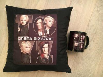Подушка Cinema Bizarre