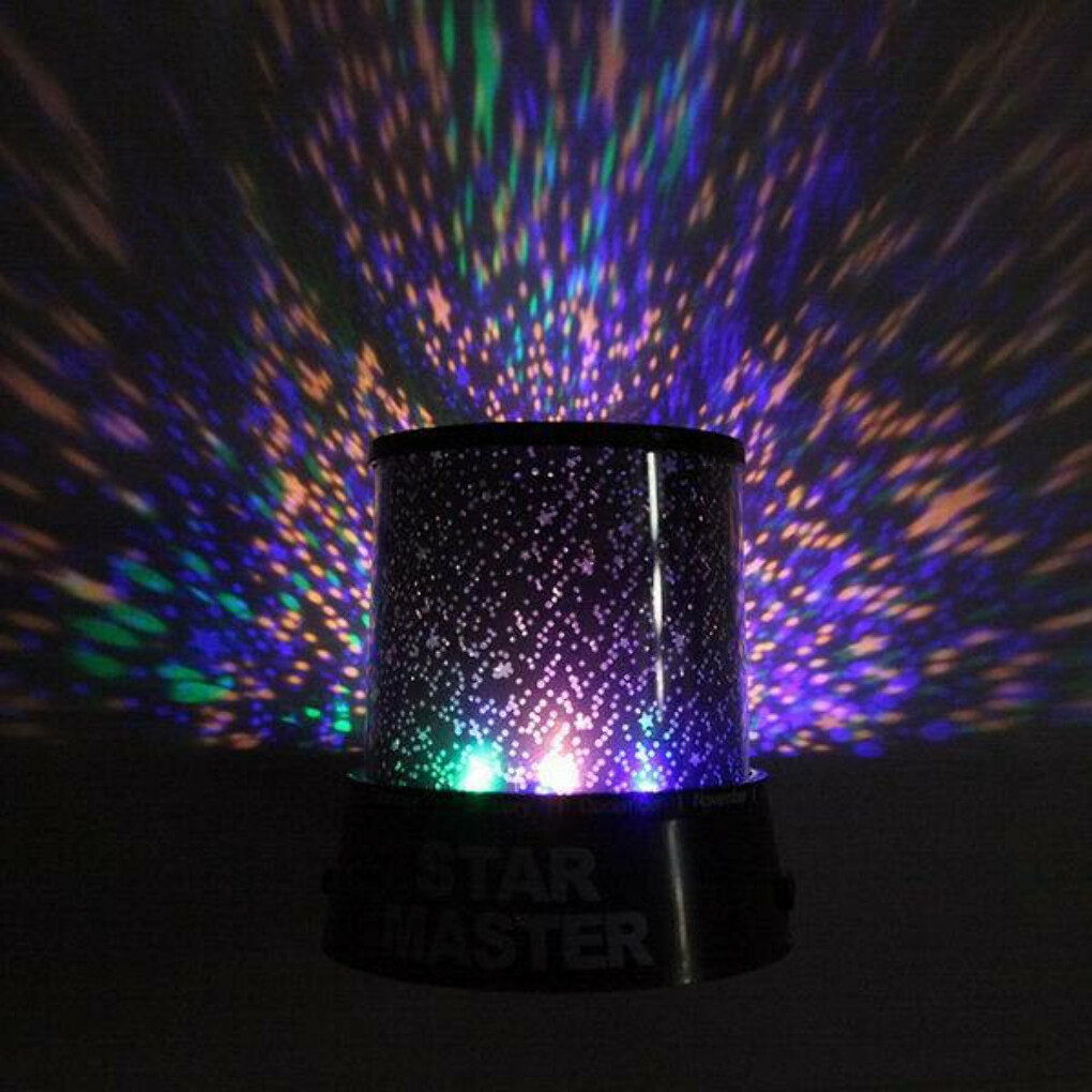 Colorful Star Projector Lamp Night Light Star light Starry lights LED Sky Star Light children not battery free shipping-in Crafts from Home & Garden on Aliexpress.com