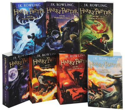 Коллекция Гарри Поттер на английском