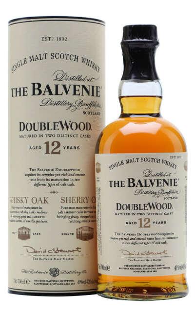 Виски Balvenie Doublewood 12 YO