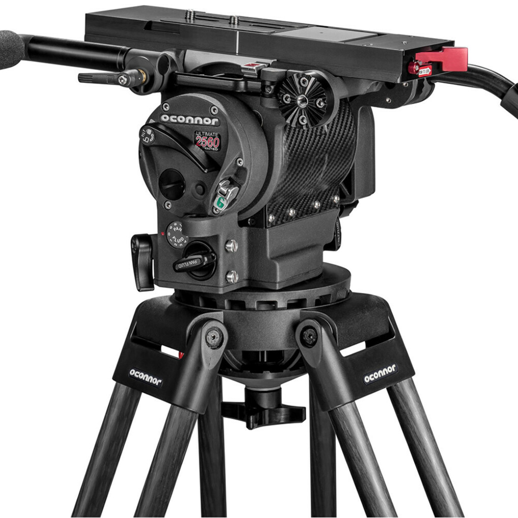 OCONNOR ULTIMATE 2560 HEAD + OCONNOR 60L CARBON FIBER TRIPOD | Panny Hire LA