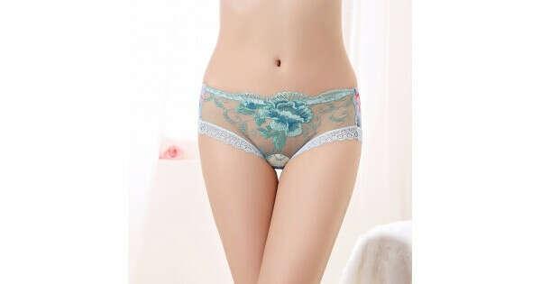 Floral Lingerie Intimate Underwear