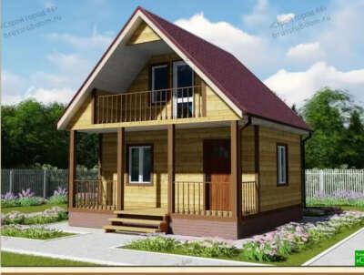Построить родителям дачный дом