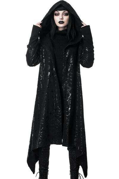 Demon Hooded Cardigan