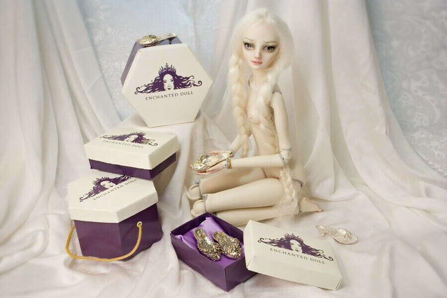 Шарнирная кукла от Марины Бысковой 2