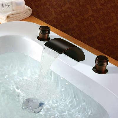 ORB Antique Oil-rubbed Bronze Bathroom Sink Faucet At FaucetsDeal.com