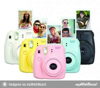 Instax Mini 8 Cheki Camera by FujiFilm