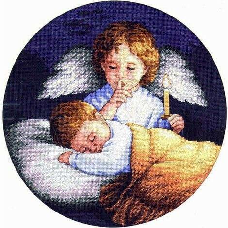 Набор для вышивания 3873-DMS Ангел-Хранитель