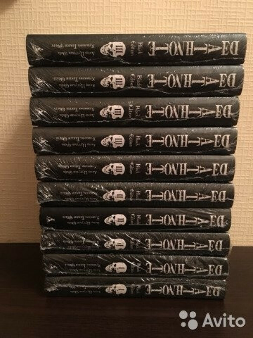 Серия манги Death Note. Black Edition.