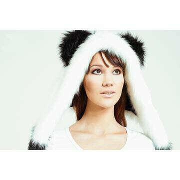Волкошапка «Панда»