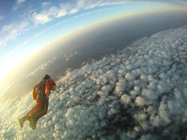 Wingsuit - прыжок