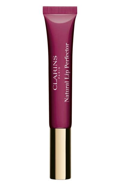 CLARINS Блеск для губ Natural Lip Perfector Оттенок-08 plum shimmer