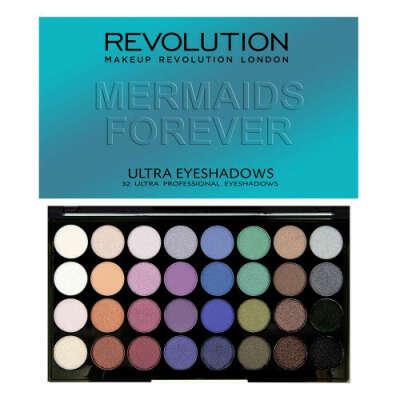 Палетка теней Makeup Revolution - Mermaids Forever