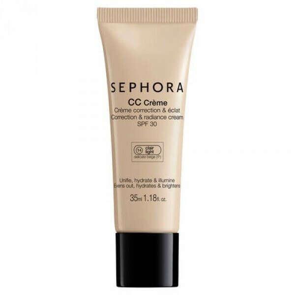 CC Cream Sephora Коррекция и Сияние SPF 30 - отзывы
