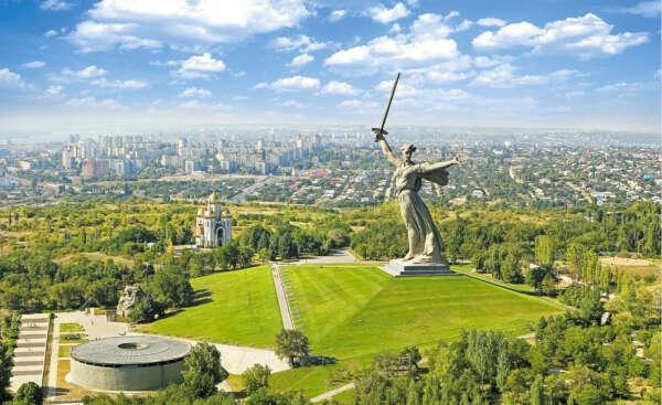 поехать в Волгоград