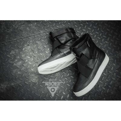 Черные кожаные ботинки Suki