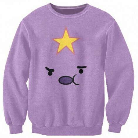 свитер с пупыркой