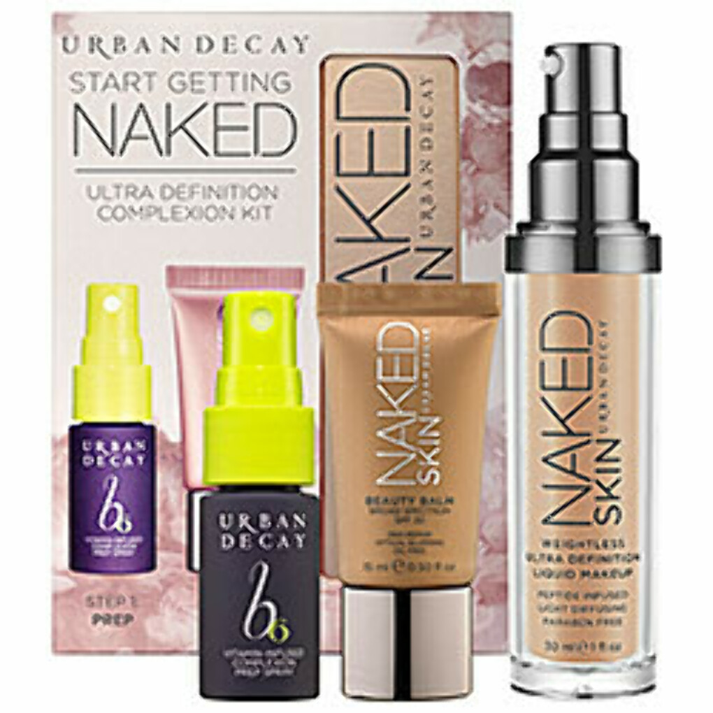 Sephora: Urban Decay : Start Getting Naked Ultra Definition Complexion Kit : foundation-sets
