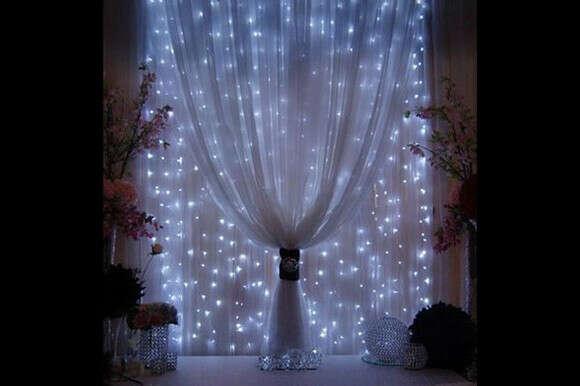Светодиодная гирлянда-шторы