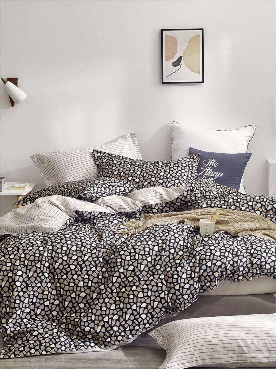 Комплект постельного белья из сатина ЕВРО, Мосальский Текстиль