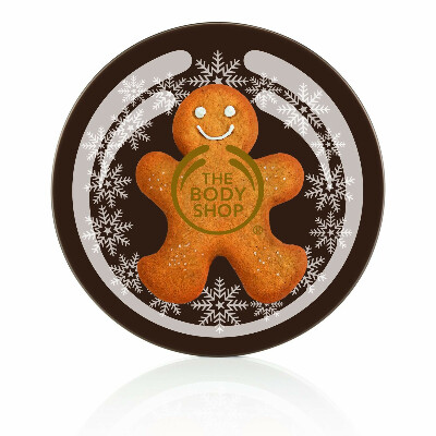 the body shop ginger sparkle body butter