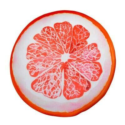 Подушка в машину Грейпфрут диаметр 31 см - выгодная цена - купить товар Подушка в машину Грейпфрут диаметр 31 см в интернет-магазине Комус