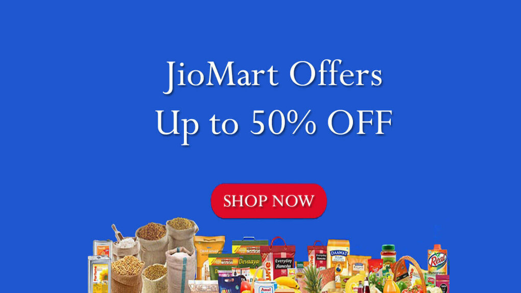 JioMart Offers: Up to 50% Off Deals, Coupons, Promo Codes & Discounts