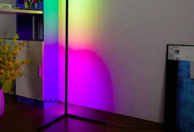 напольная угловая RGB-лампа