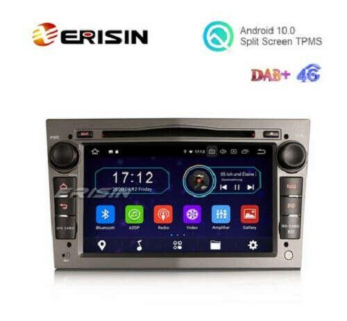 "Erisin ES6960PG 7"" Android 10.0 Car DVD RDS BT GPS 4G WiFi DAB+ Radio for Opel Combo Meriva Signum Astra - Erisinworldwide"
