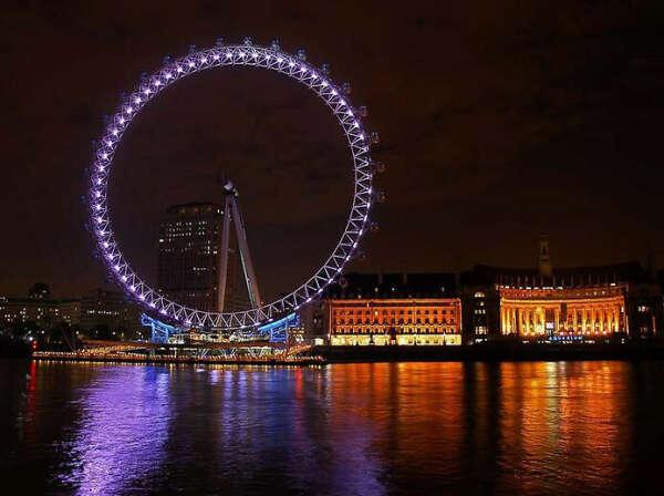 Прокатиться на «Лондонском глазе»