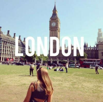 Побывать В Лондоне.