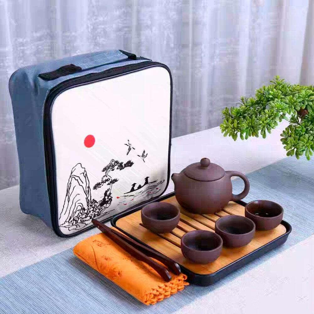 Чайный набор для чайной церемонии дорожный, портативный