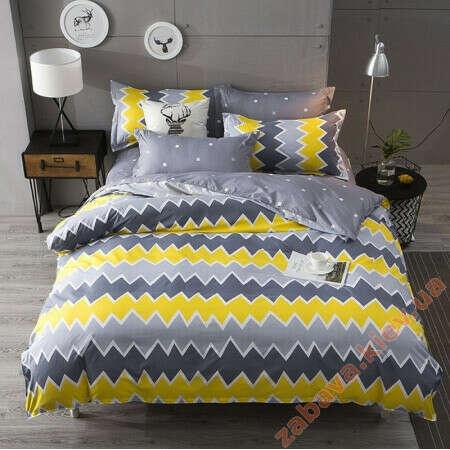 Полуторный комплект постельного белья ZigZag Pattern