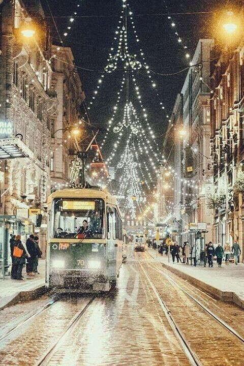 Съездить в Европу на Рождество