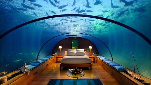 посетить отель под водой