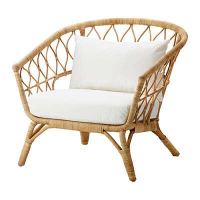 СТОКГОЛЬМ 2017 Кресло с подушкой-сиденьем - IKEA