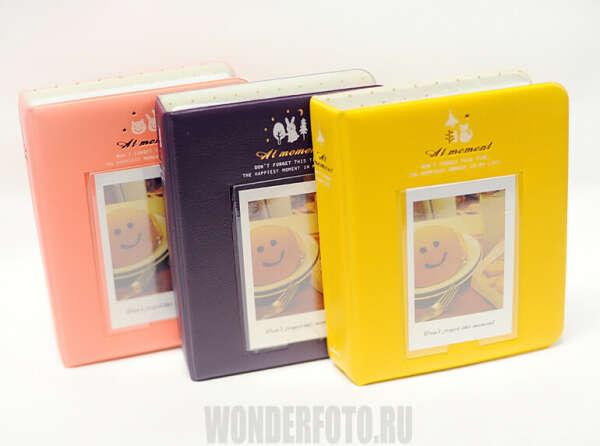 Альбом для Fujifilm instax mini, Polaroid PIC 300