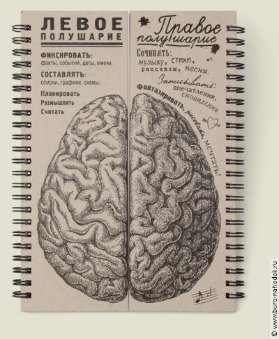 """Блокнот """"Мозг"""""""