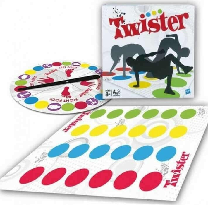 Классическая версия игры Твистер