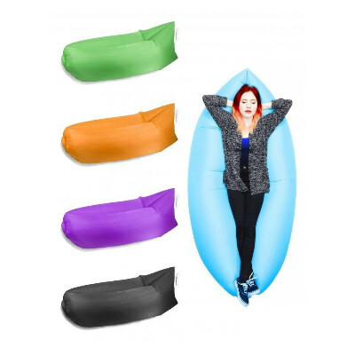 Outdoor Travel Inflatable Blow Up Hammock Air Lounger | RIGHT HERE!