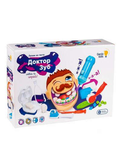 Набор для детской лепки Доктор Зуб GENIO KIDS 5866178 купить за 899 ₽ в интернет-магазине Wildberries