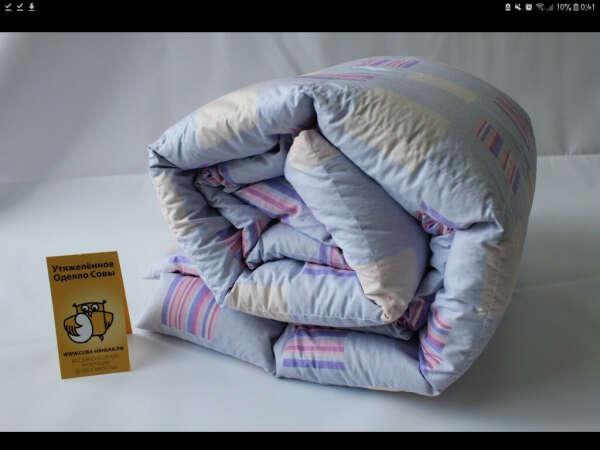 Утяжеленное одеяло Совы с регулируемым весом от 3245 рублей.