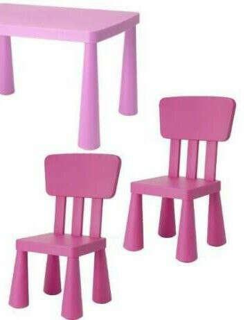 Столик и стульчик ИКЕА