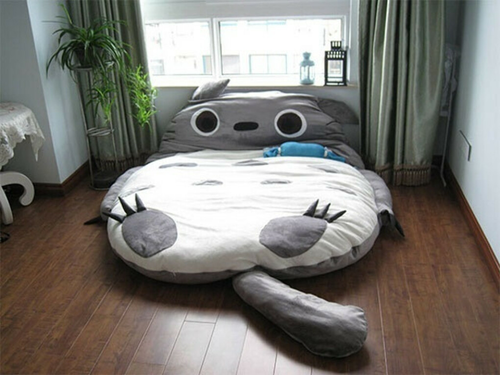 Totoro Cushion Bed