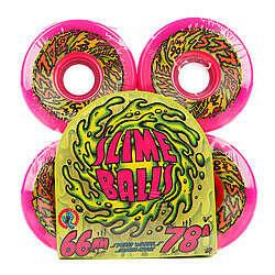 Колёса Santa Cruz Slime Ball 66S Neon Pink