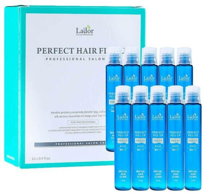 La'dor Филлер для волос, 13 мл, 10 шт.