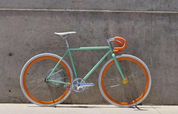 Велосипед fixed-gear
