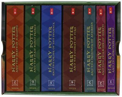 Все книги о Гарри Поттере на английском